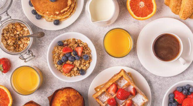 low calorie healthy breakfast