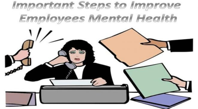 steps to improve employees mental health